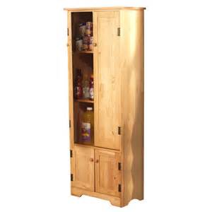 Tall Kitchen Storage Cabinet Tall Pine Wood Cabinet Kitchen Pantry Armoire Hutch Bakers