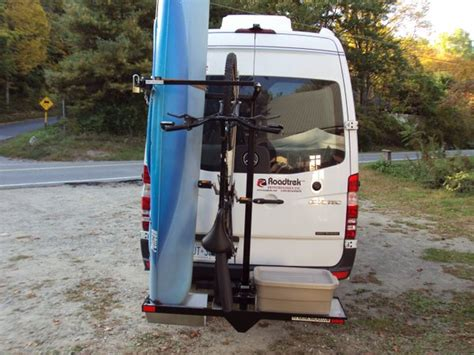Travel Trailer Kayak Rack by Rv Kayak Racks On Quot Hymerusa Quot Why Leave Quot Https T Co Bdbixequxn Https