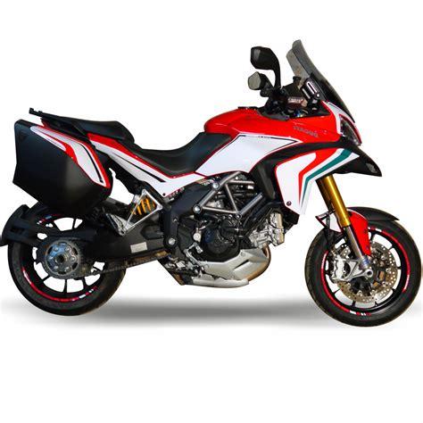 Dekor Shop by 4moto Shop Ducati Dekor Aufkleber Multistrada Bikedekor