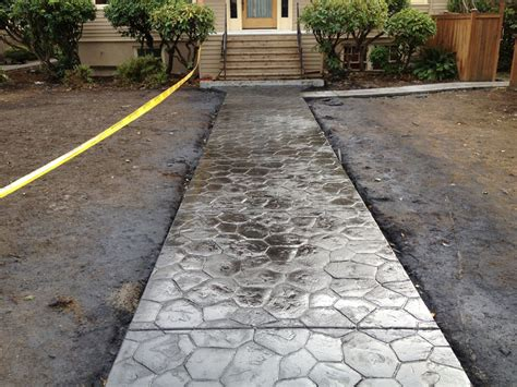 residential concrete sidewalks images