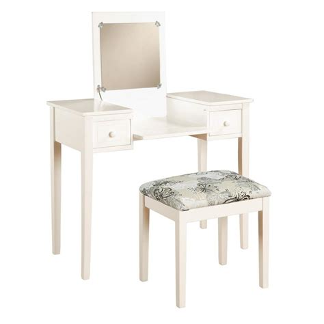 vanity benches for bedroom linon home decor white bedroom vanity table with butterfly