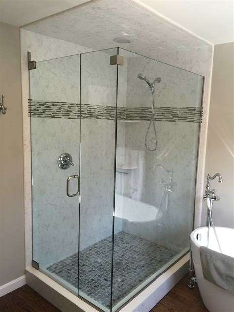 Custom Shower Enclosures Ri Ma Ct Rite Glass Inc Shower Doors Ct