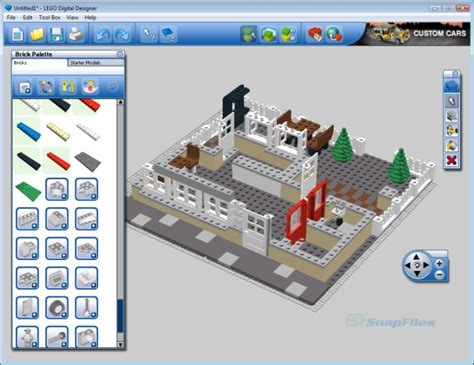 Home Design 3d Jeux by Lego Digital Designer Screenshot And Download At Snapfiles Com