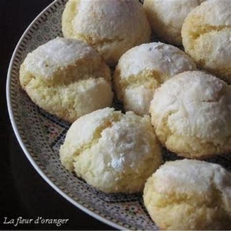 cuisiner facile recette macarons marocains noix de coco et semoule