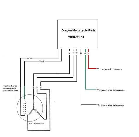 4 wire stator wiring diagram 4 get free image about