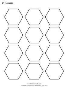 printable epp shapes printable pentagon templates patchwork pinterest