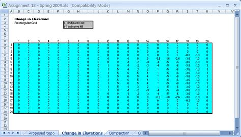 Detention Pond Design Spreadsheet by Civl 1112 Computational Homework