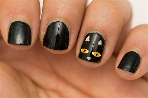 easy nail art halloween beauty by arielle quick and easy halloween nail art for