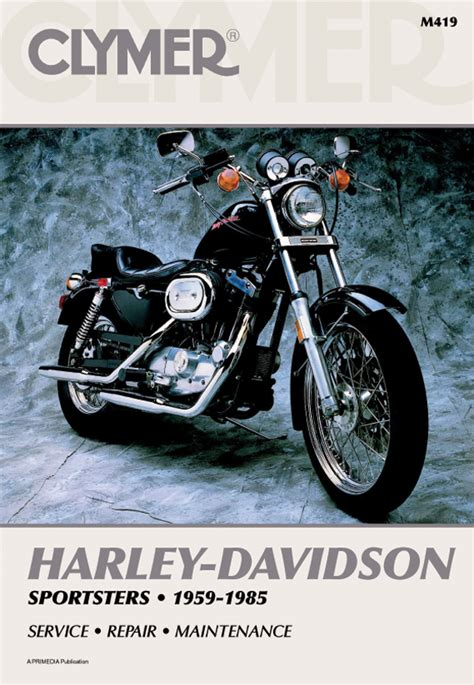Clymer Service Repair Manual For Harley Davidson Sportster