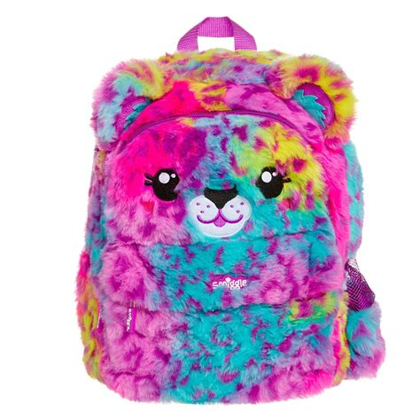 Smiggle Backpack Size fluffy junior softy backpack smiggle uk kawaii