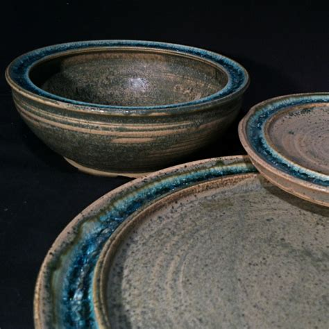 Pottery Dinnerware Handmade - pottery celebrates the harvest season with