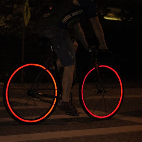 reflective bicycle reflective bicycle wheel stickers in black fiks reflective
