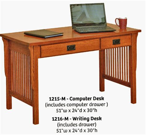 Mission Style Office Desk Mission Style Computer Desk Tubmanugrr