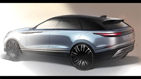 land rover discovery drawing car design sketch drawing land rover velar