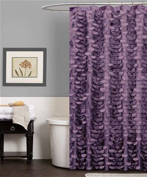 brown and purple shower curtain 1000 ideas about purple bathrooms on pinterest purple