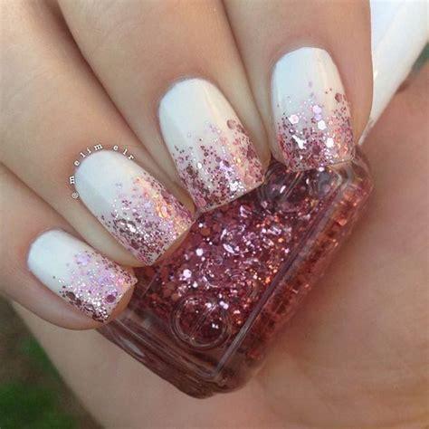 easy nail art glitter 25 best ideas about glitter nail designs on pinterest