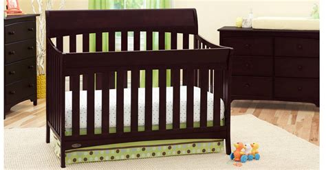 Meijer Baby Cribs by Graco 4 In 1 Convertible Crib Only 137 99 Shipped
