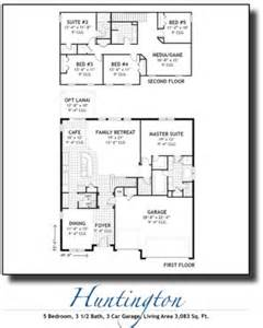 huntington floor plan inland homes florida new homes for sale