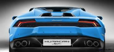 Spyder Lamborghini 2016 Lamborghini Huracan Spyder