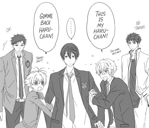 ouran highschool host club free in imperfection