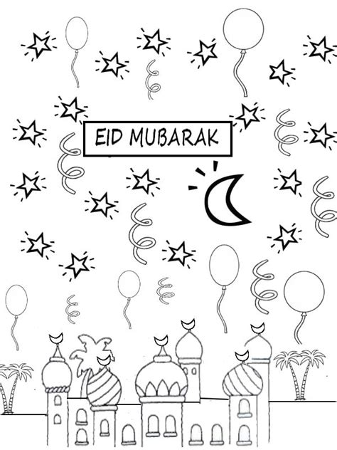 eid card templates to colour 555 best images about eid and ramadan on eid