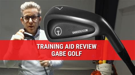 best golf swing trainer reviews gabe golf swing trainer training aid review youtube