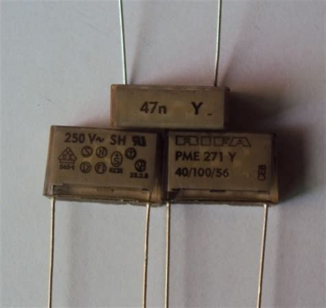 kapasitor rifa rifa capacitor pme271y547mr30 0 047uf 250v incapacitors from electronic components supplies on