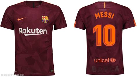 Jersey Barcelona 3rd 2017 2018 17 18 Fullset Grade Ori fc barcelona 2017 18 nike third kit football fashion org