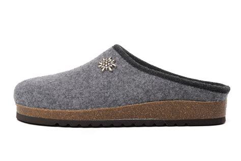 Handmade Slippers - handmade tyrolean slippers innsbruck model grey