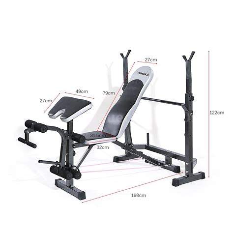 butterfly weight bench adjustable bench press machine strength training home gym
