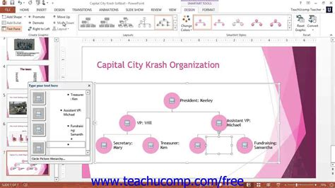 tutorial excel 2013 ppt powerpoint 2013 tutorial formatting smartart microsoft