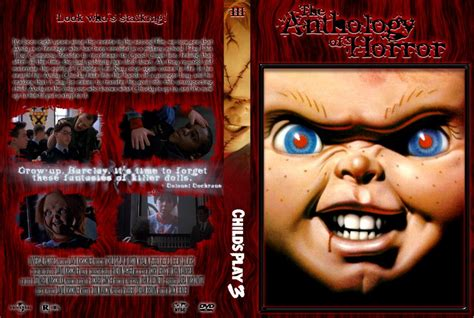 film chucky 3 pics of horror movie covers child s play 3 the