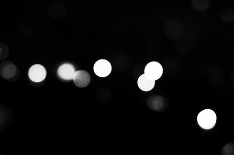 free stock photo of black and white bokeh busan
