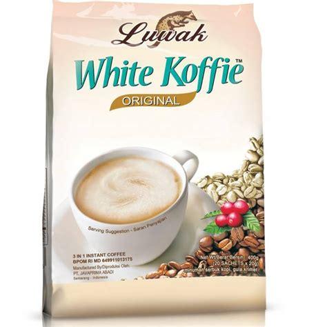 Oentoeng Kopi Luwak 20 Sachet White Coffee Luwak Original 20 Sachets 400gr Tokogembira Nl