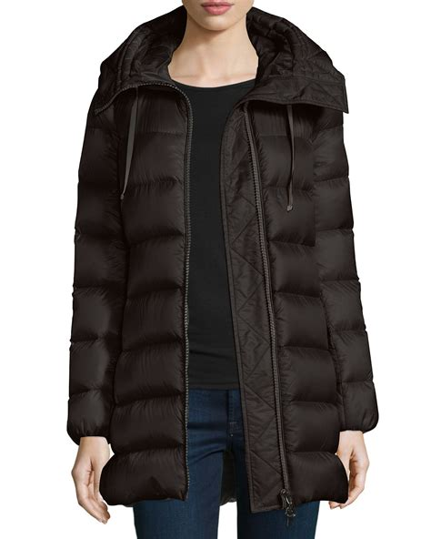 Moncler Quilted Puffer Jacket by Moncler Suyen Lightweight Quilted Puffer Coat In Black Lyst