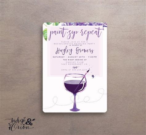 paint with a twist birthday paint sip repeat painting invitations wine