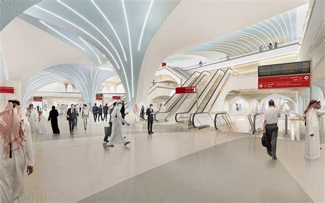 Design Management Studio Qatar | unstudio designs stations for phase one of the doha metro