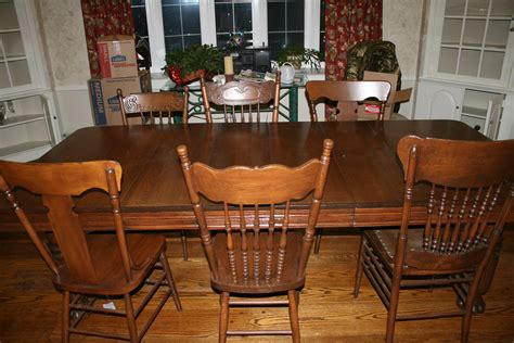 dining table 8 chairs for sale dining table 4 leaves seats 8 10 totally refinished 8