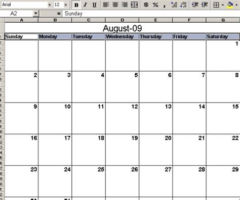 can you make a calendar in excel how to make a calendar template in excel