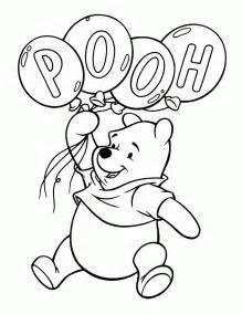 coloring pages winnie pooh kids blog