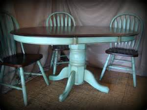 Kitchen Table Paint Ideas Kitchen Table Refinishing Ideas Pictures Stained The Table Top And Chairs With Walnut