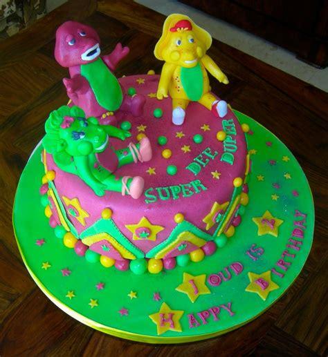 Barney Decorations by Barney Cakes Decoration Ideas Birthday Cakes