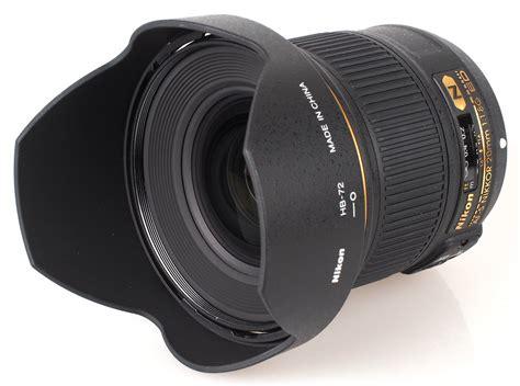 nikon af s nikkor 20mm f 1 8g ed lens review