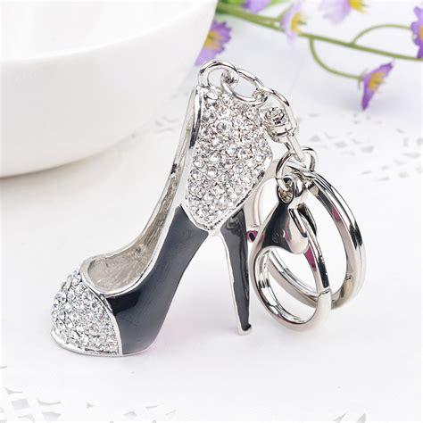 high heel shoe gifts novelty items trinket gifts high heel keychains rhinestone