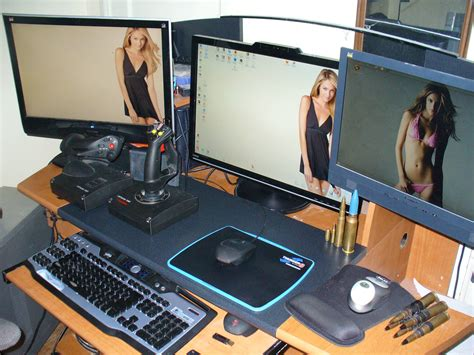 how to make a gaming setup cool computer setups and gaming setups