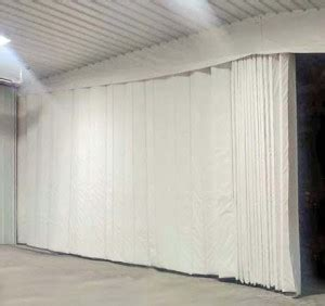 thermal curtains warehouse thermal heavy insulated curtains dividers curtain walls