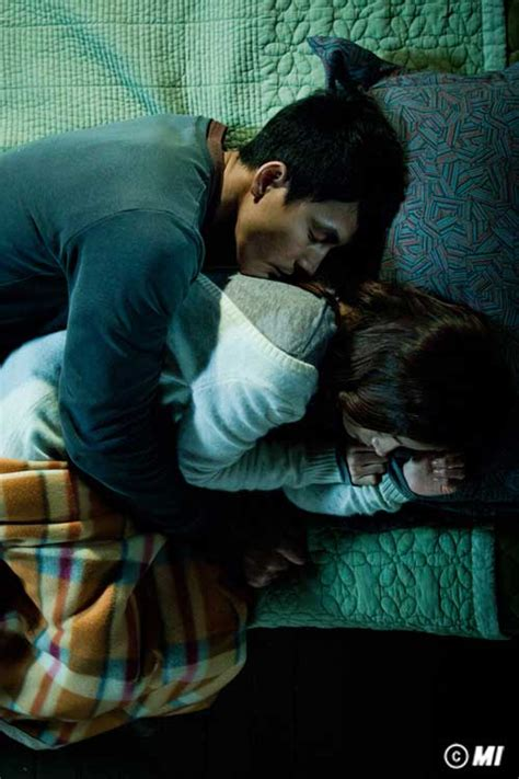 jung woo sung and han ji min kiss and bed at abandoned