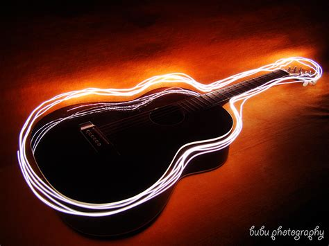 The Light Like A Guitar Only With Light by Guitar Light Painting By Bogdanici On Deviantart