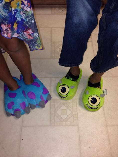 sully slippers mike and sully slippers disney accessories