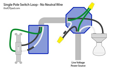 light switch neutral wire no neutral wire wiring diagram schemes